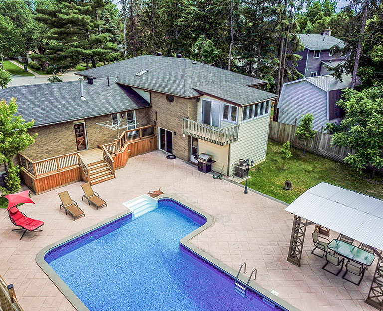 Aerial Real Estate Photography in innisfil