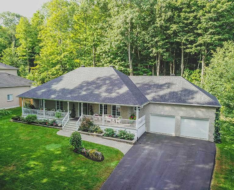 Aerial Real Estate Photography in Orillia